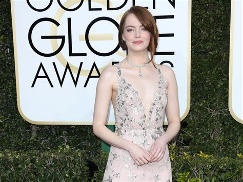 Emma Stone Emmy | la la land s emma stone wins golden globe for best actress