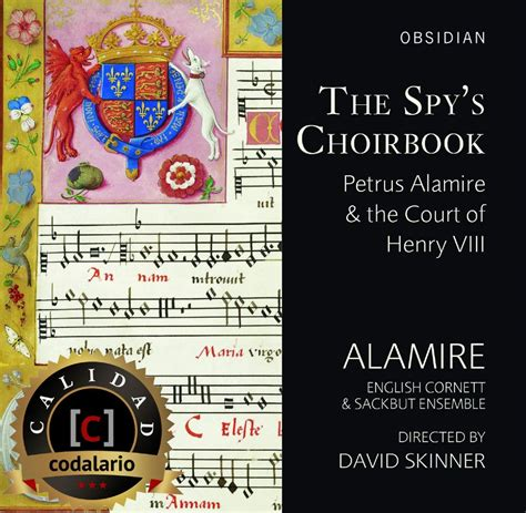 libro the spy cd the spy s choirbook por alamire calidad codalario