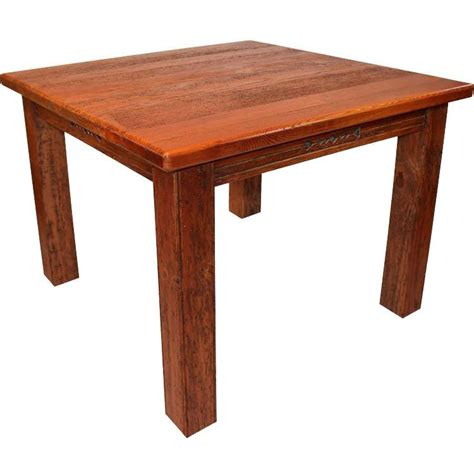 rustic furniture southwestern rustic square taos dining