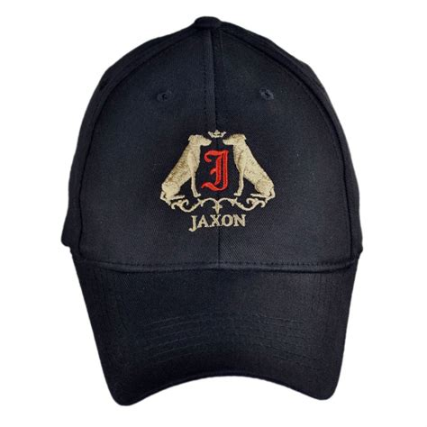 jaxon hats logo fitted baseball cap all baseball caps