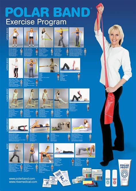 printable exercise band workouts band exercises motivate me pinterest