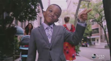 michael strahan news page 3 people pint sized michael strahan stars in new gma promo
