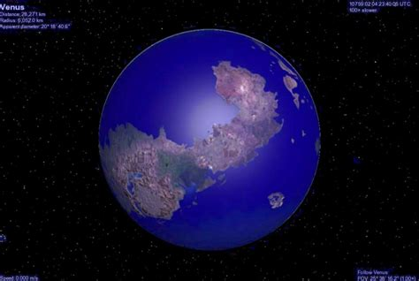 Planetary Orbit Clock Describes Your Local Habitation by S Arm Encyclopedia Galactica Venus