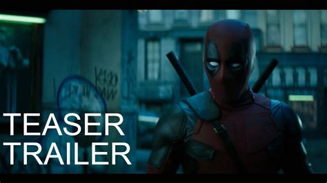 deadpool teaser trailer deadpool 2 teaser trailer subtitrat 238 n rom 226 n艫