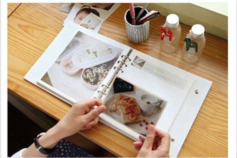 How To Make Handmade Photo Albums - aliexpress buy diy scrapbook album baby grow up