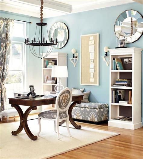 Ballard Designs Desks light blue home office with gray accents office pinterest