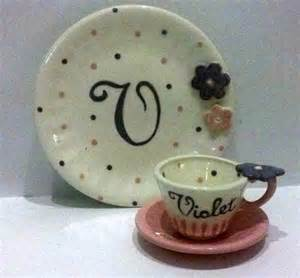 personalized cake plate personalized cake plate tea cup with saucer by speeglecreations