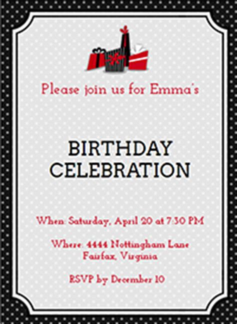 100 electronic birthday invitations templates