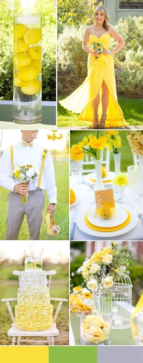 yellow colour themes download 17 best images about wedding color schemes on pinterest