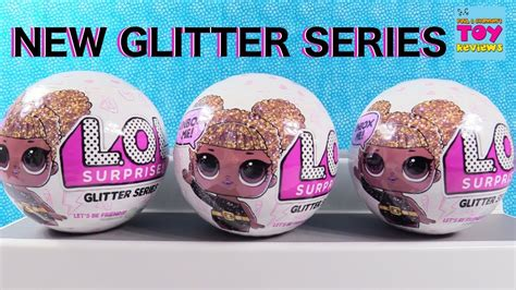 new lol glitter series doll blind bag review