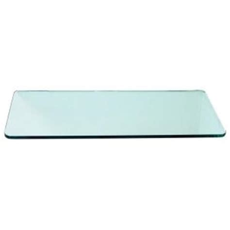 home depot glass shelves floating glass shelves 3 8 in rectangle glass corner shelf price varies by size r1224 the