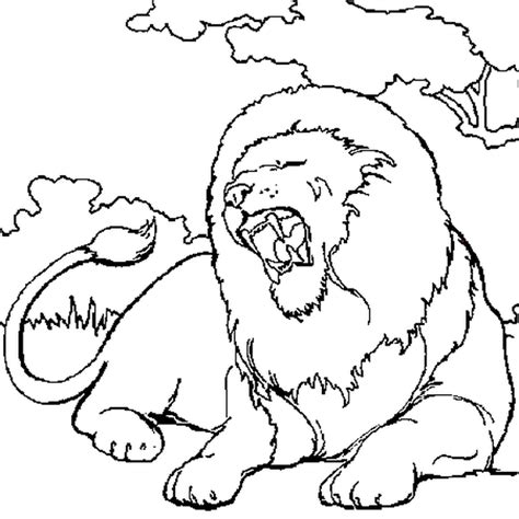 Coloriage Lion En Ligne Gratuit 224 Imprimer Tete De Lion Coloriage L