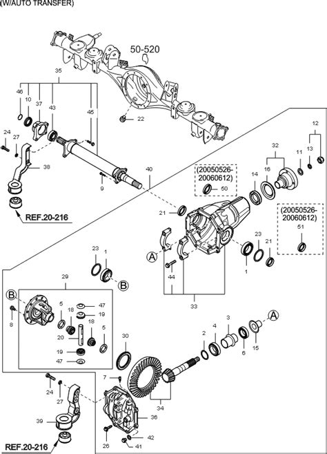 2003 kia sorento front differential diagram wiring
