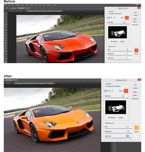 how to change color of object in photoshop adobe photoshop tutorial how to change a color of an