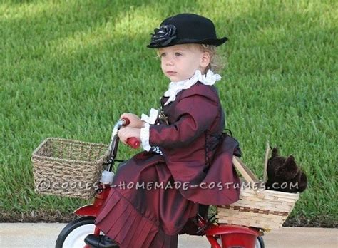 Handmade Toddler Costumes - cool handmade toddler costume ms gulch with toto from