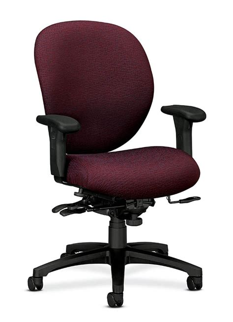 hon unanimous pneumatic mid back office chair