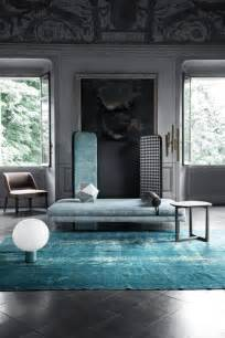 blue rug living room
