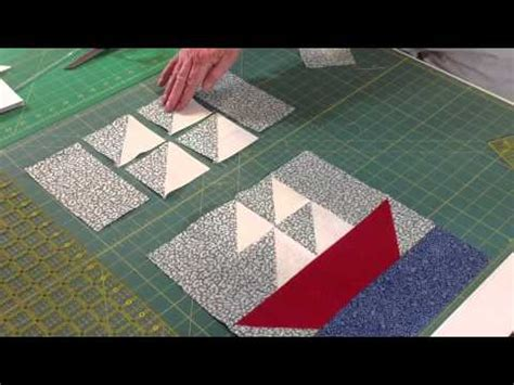 sailboat easy easy sailboat quilt block youtube