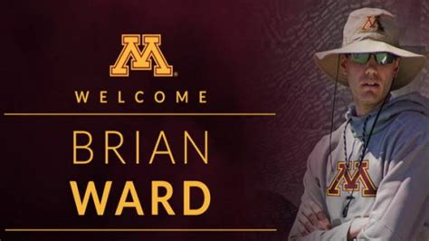 Mba Of Minnesota Ranking by The Of Minnesota Signs Brian Ward As S