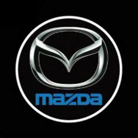 logo de mazda 2 luces led con el logotipo mazda proyecci 243 n paso de la
