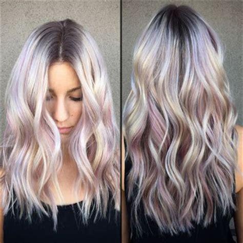 silvery blonde highlights silver blonde purple hair www pixshark com images