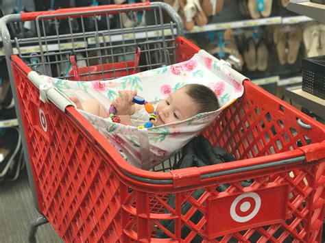 Hammock Shopping Binxy Baby Shopping Cart Hammock For Babies A Thrifty