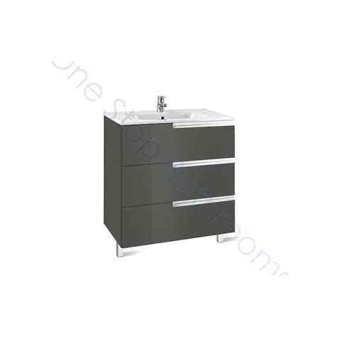 Basin Drawer Unit by Roca N 700mm Drawer Unit And Basin 3 Drawers