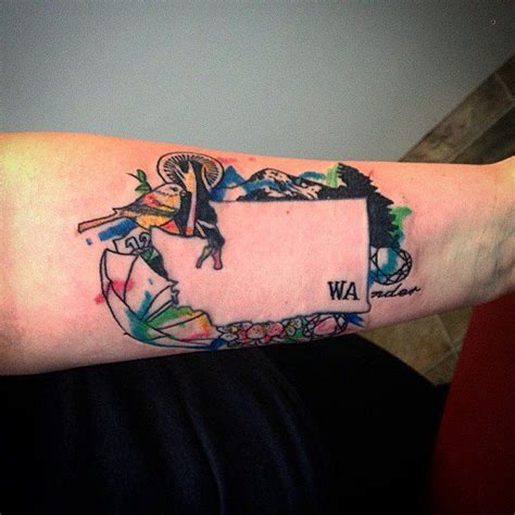 washington tattoo 17 best ideas about washington state tattoos on