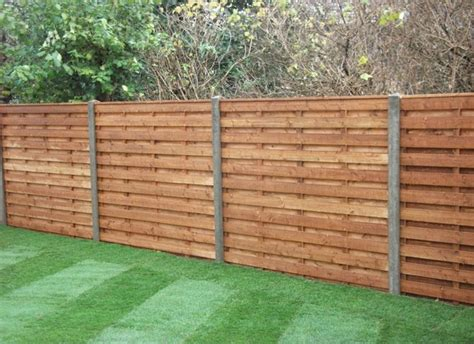 fences types of wooden fences designs wood fence panels