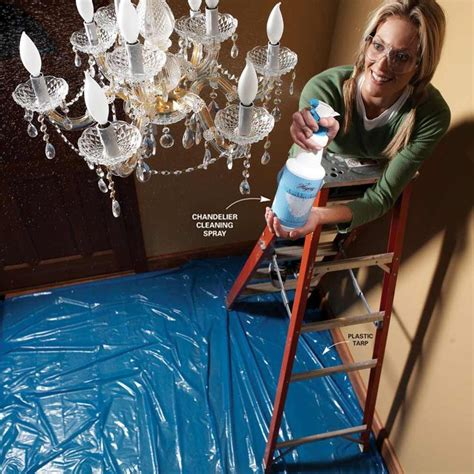 1000 Images About Cleaning Tips Around The House On Chandelier Cleaner Recipe