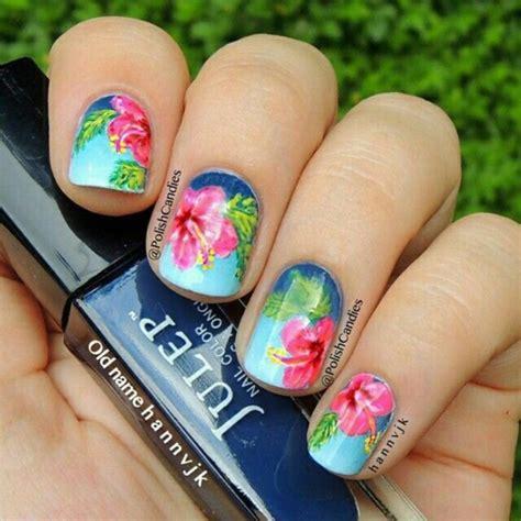 easy spring nail designs  short nails