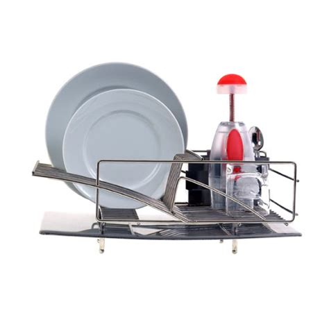 Modern Dish Rack Stainless Steel by Zojila Modern Dish Drying Steel Rack Drainer Sink Kitchen