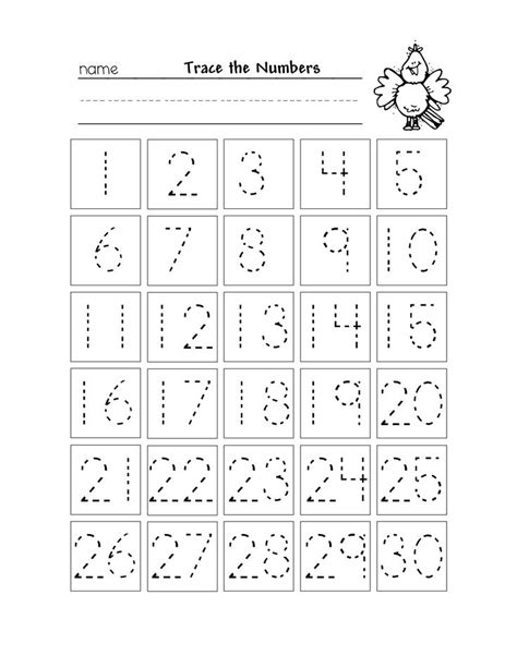 free printable tracing numbers 1 10 worksheets numbers 1 30 traceable things for homeschool preschool