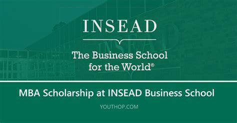 Insead Mba Curriculum by Insead Business School Scholarships 2018 For Students Of