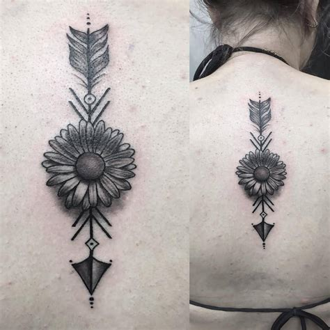 arrow back tattoo 8 arrow tattoos on back