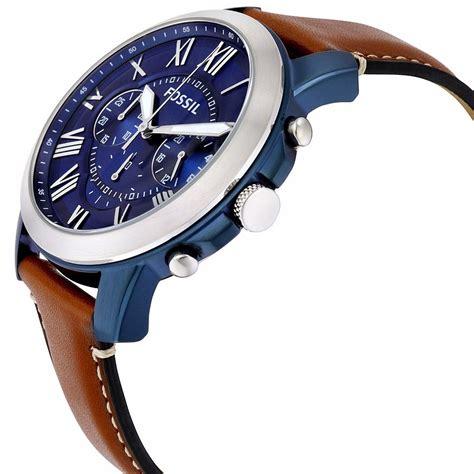 Fossil Fs 5151 Original reloj fossil blue grant chronograph fs5151 watchito