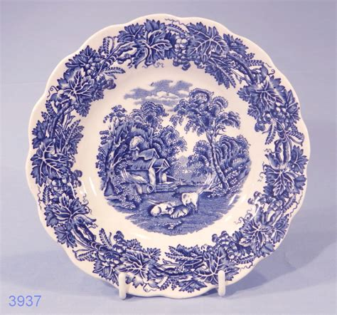 china pattern finder booths british scenery vintage silicon china tea saucer