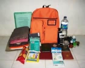Tas Evakuasi by Mengenal Dan Merancang Tas Siaga Bencana United