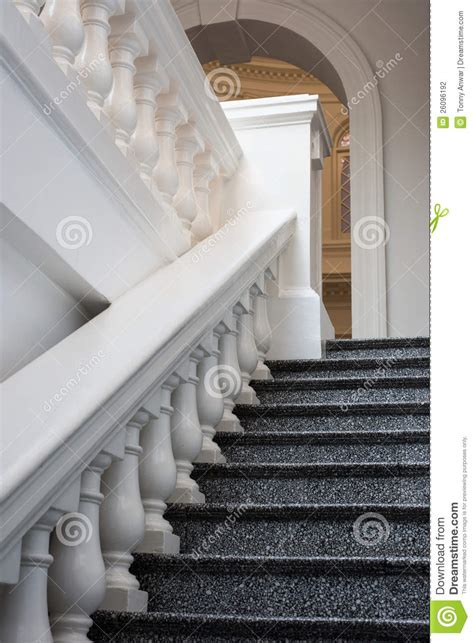 Juliet Balcony by Marble Steps And Railing Stock Photography Image 26096192