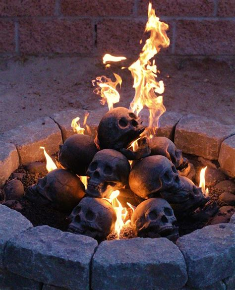 These Are Just Flames Burning In Your Fireplace by Now You Re Talking Fireproof Human Skulls For Your Gas