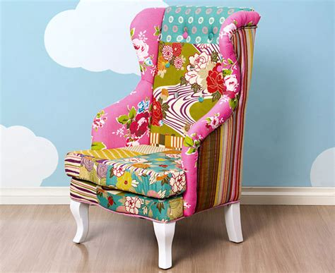 Boho Patchwork Chair - deluxe patchwork boho armchair great daily deals at