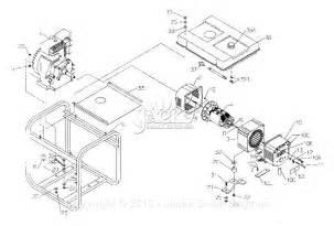 coleman powermate 5000 generator diagram free wiring diagram images