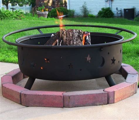 Portable Outdoor Fire Pit Grill Fireplace Design Ideas Portable Backyard Pit