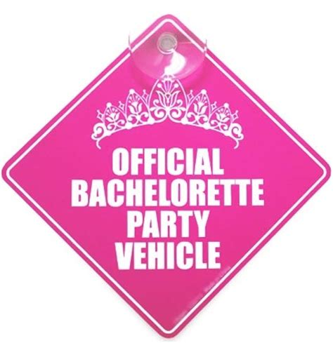 the house of bachelorette bachelorette car flag the house of bachelorette