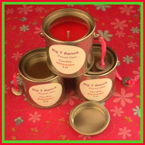 Watermelon Soy 2 5 Oz Candle Paint Can Soy Candle Watermelon Scented