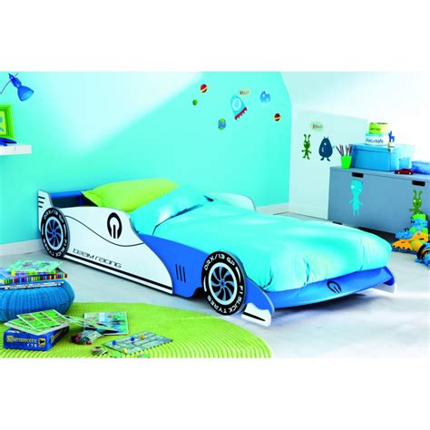 prix lit grand prix lit enfant voiture bleue 90 x 190 meubletmoi
