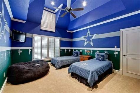 dallas cowboys bedroom ideas cowboys themed room how bout dem cowboys pinterest