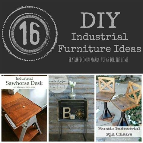 metal home decor industrial furniture 16 diy metal home decor ideas
