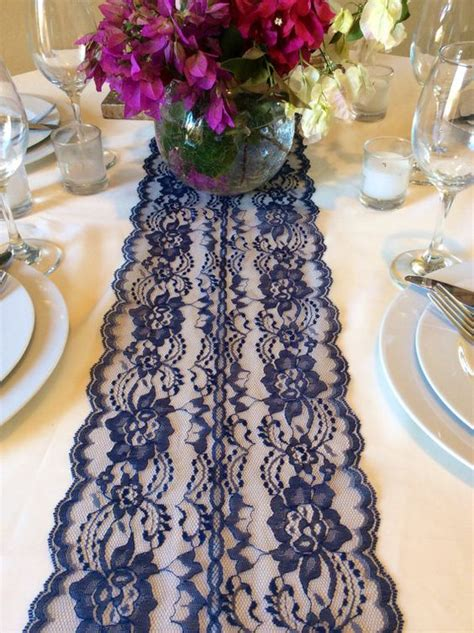 Navy Blue Table Runners Wedding by Navy Blue Table Runner Table Runners And Blue Tables On