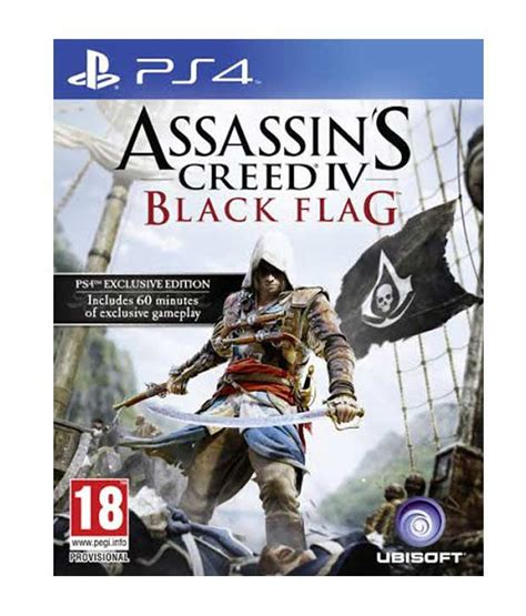 Kaset Ps4 Assassin S Creed Iv Black Flag buy assassin s creed iv black flag ps4 at best price in india snapdeal